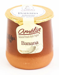 Amelia's Yogurt Company, Banana Yogurt 5oz, Joe's Farm Bixby