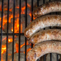 John's Farm Beef Brats - Onion & Garlic, 4/pack