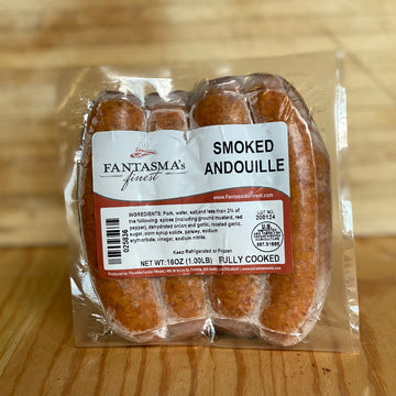 Paradise Locker Meats Sausage Andouille, 4 pack