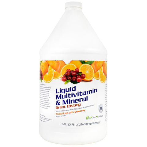 Liquid Multivitamin & Mineral