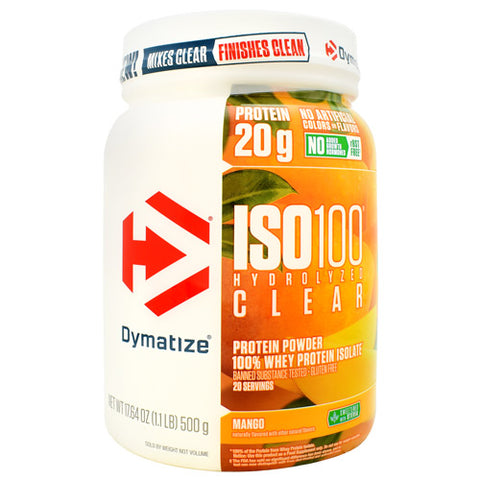 ISO100 Hydrolyzed Clear