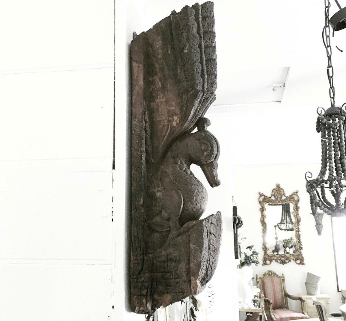 Pair of Antique Indian Wall Sconces