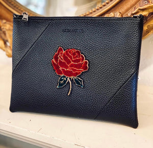 Vegan Leather Bag - Rose