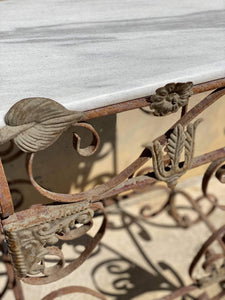 Rare French Vintage Garden Table