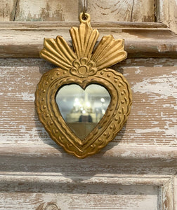 Mini Sacred Heart Mirror - 2 Designs