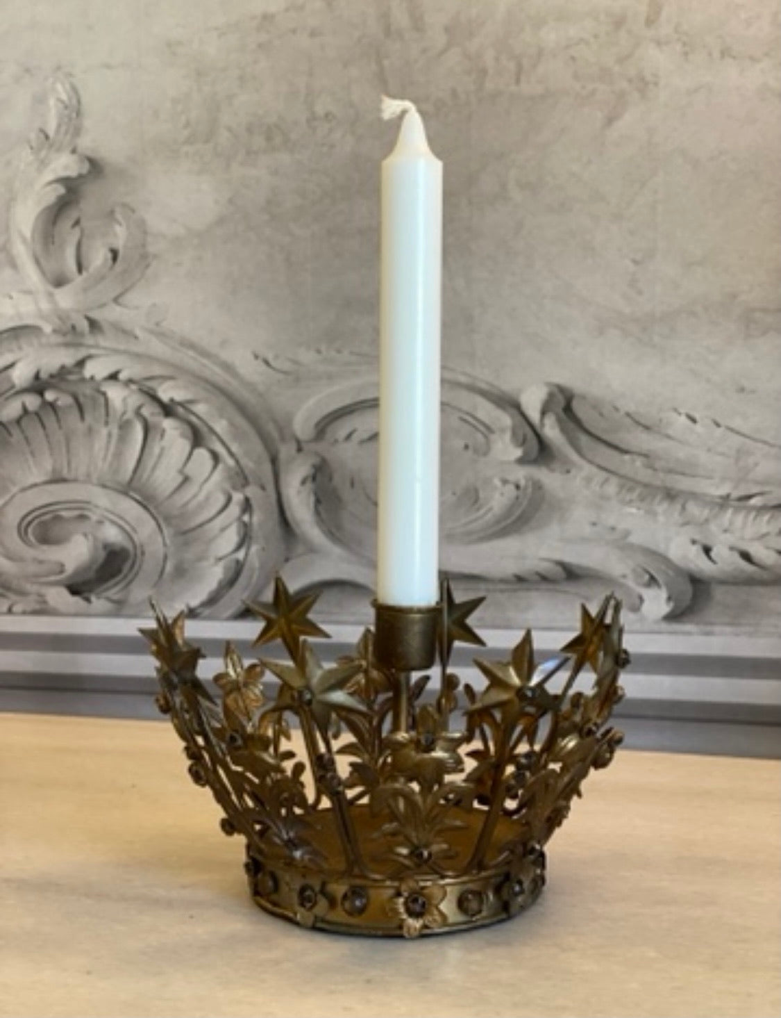 Victorian Crown Candle Holder - 2 Designs