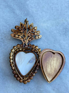 Jewelled Mother of Pearl Sacred Heart