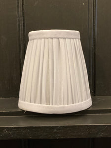 Mini Pleated Lamp Shade - Various Colours