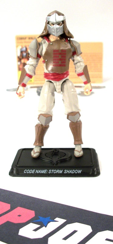 2009 RESOLUTE G.I. JOE COBRA STORM SHADOW V28 COMIC PACK LOOSE 100% COMPLETE + F/C