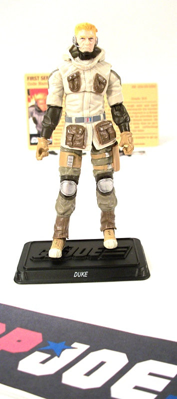 2010 RESOLUTE G.I. JOE DUKE V41 GI JOE BATTLE SET ROSS EXCLUSIVE LOOSE 100% COMPLETE + F/C