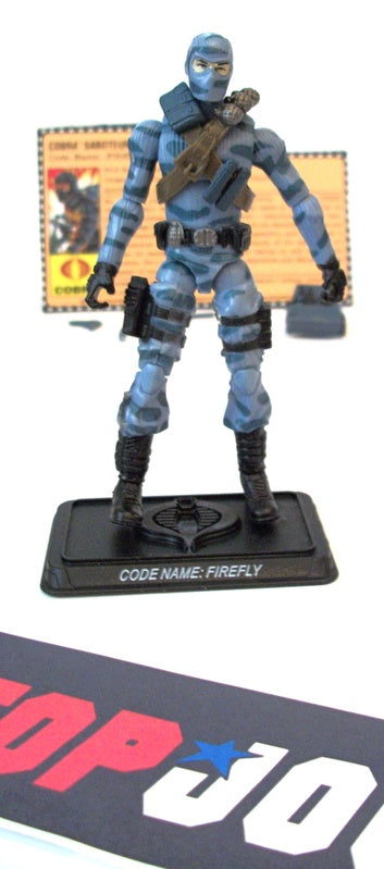 2008 25TH ANNIV G.I. JOE COBRA FIREFLY V16 FIREFLY VS. G.I. JOE TROOPERS PACK TRU EXCLUSIVE LOOSE 100% COMPLETE + F/C