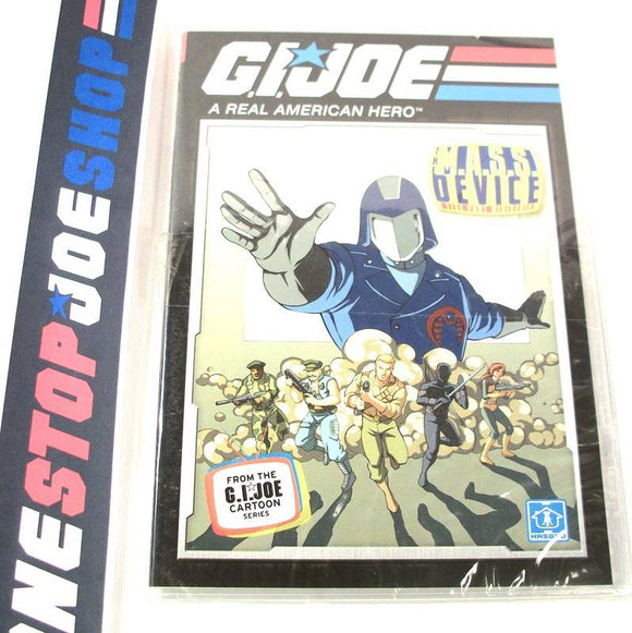G.I. JOE A REAL AMERICAN HERO THE M.A.S.S. DEVICE CARTOON MINI-SERIES 25TH ANNIVERSARY BATTLE PACK DVD #1