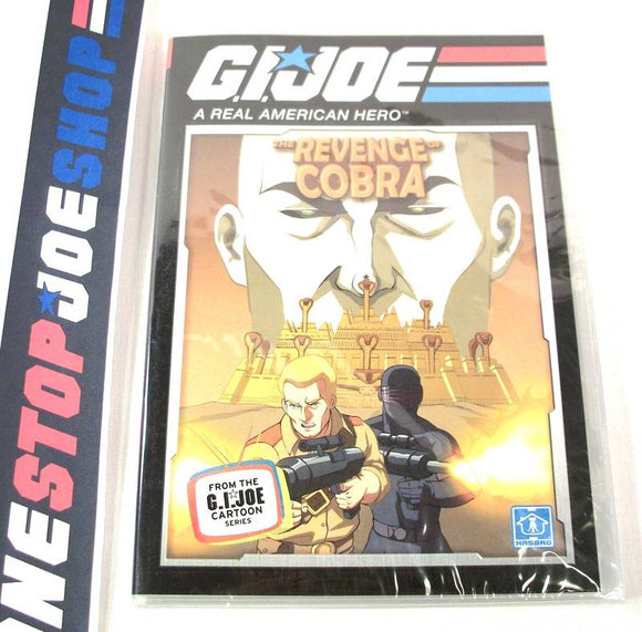 G.I. JOE A REAL AMERICAN HERO REVENGE OF COBRA CARTOON MINI-SERIES 25TH ANNIVERSARY BATTLE PACK DVD #2