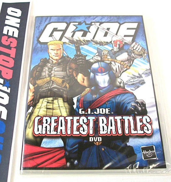 G.I. JOE GREATEST BATTLES CARTOON BATTLE PACK DVD