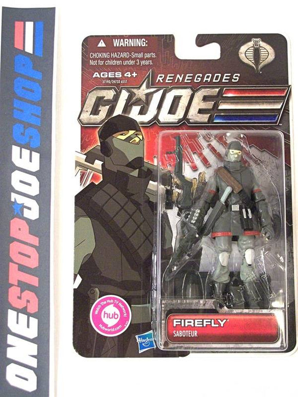2011 30TH ANNIV G.I. JOE COBRA FIREFLY V23 NEW SEALED