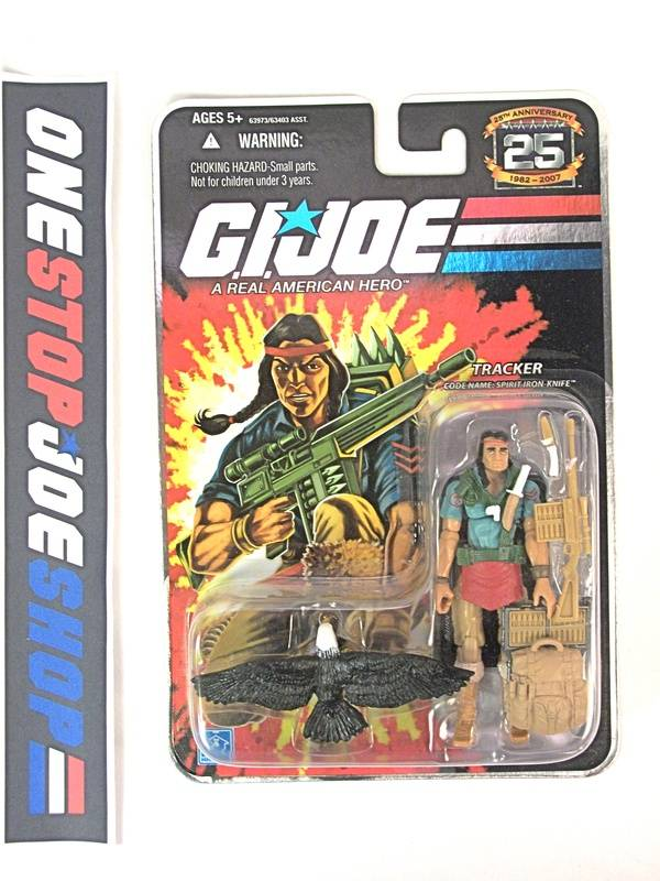 2008 25TH ANNIV G.I. JOE SPIRIT IRON-KNIFE V3 WAVE 7 NEW SEALED FOIL CARD
