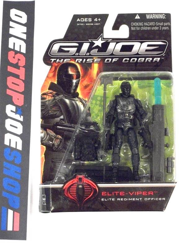 2009 ROC G.I. JOE COBRA ELITE VIPER V1 NEW SEALED
