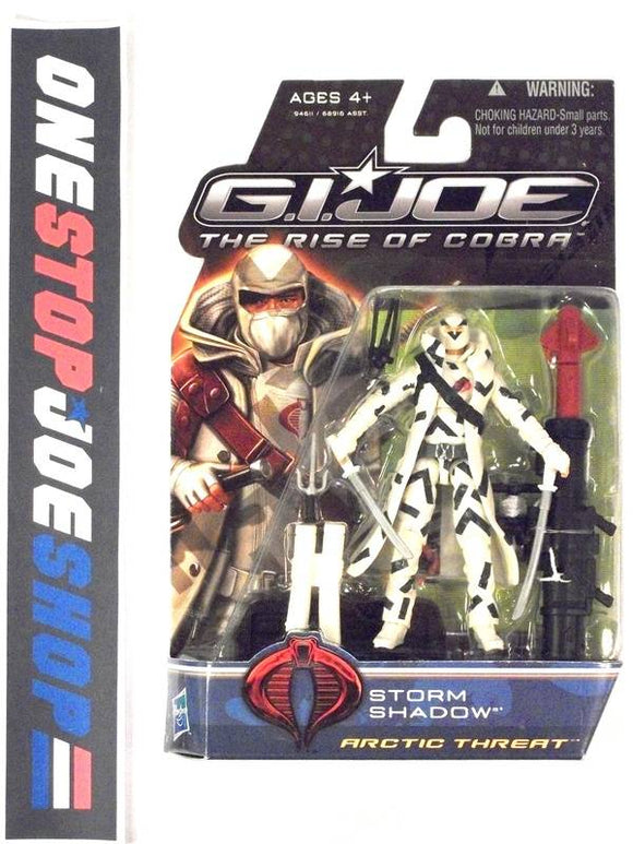 2009 ROC G.I. JOE COBRA STORM SHADOW V36 ARCTIC THREAT NEW SEALED