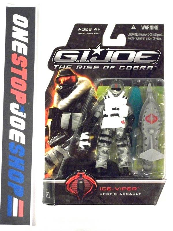 2009 ROC G.I. JOE COBRA ICE VIPER V3 NEW SEALED