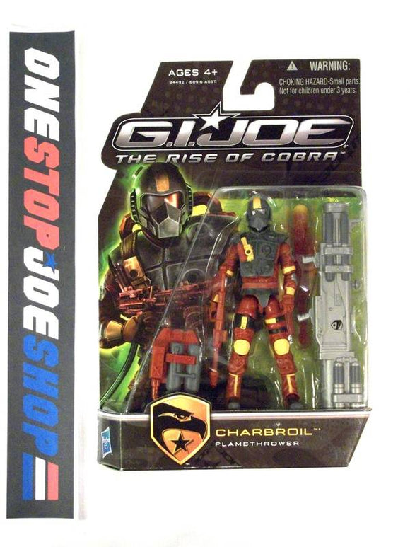 2009 ROC G.I. JOE CHARBROIL V4 NEW SEALED