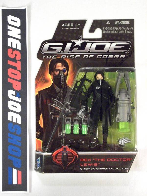 2009 ROC G.I. JOE COBRA COBRA COMMANDER THE DOCTOR V1A NEW SEALED