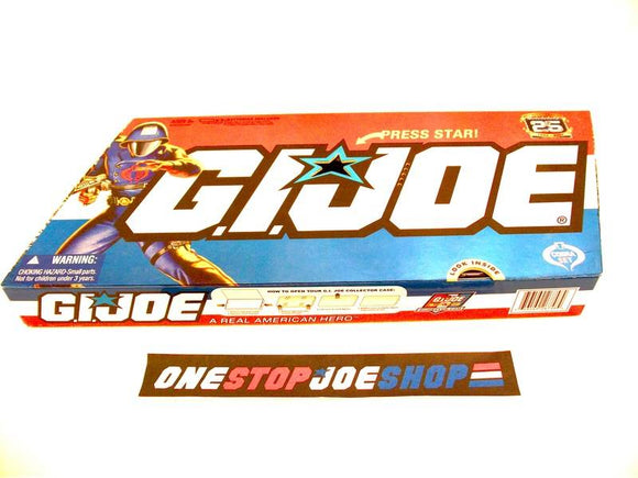 2007 25TH ANNIV G.I. JOE COBRA THE ENEMY BATTLE PACK BOX SET NEW SEALED