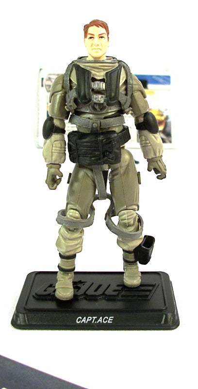 2011 30TH ANNIV G.I. JOE ACE V4 ECHO VEHICLE SKY STRIKER PILOT LOOSE 100% COMPLETE + F/C