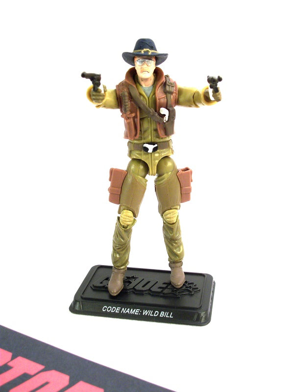 2008 25TH ANNIV G.I. JOE WILD BILL V11 WAVE 7 LOOSE 100% COMPLETE + F/C