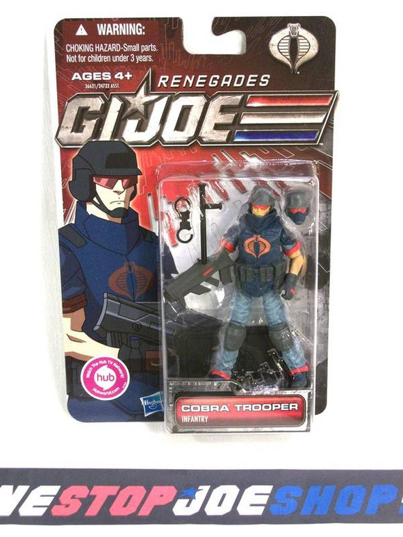 2011 30TH ANNIV G.I. JOE COBRA ENEMY TROOPER V16 NEW SEALED