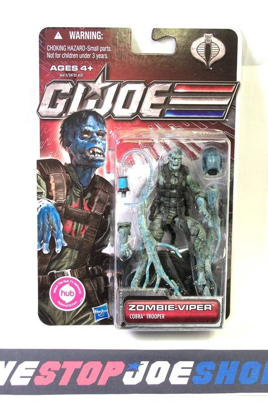2011 30TH ANNIV G.I. JOE COBRA ZOMBIE-VIPER V1 NEW SEALED