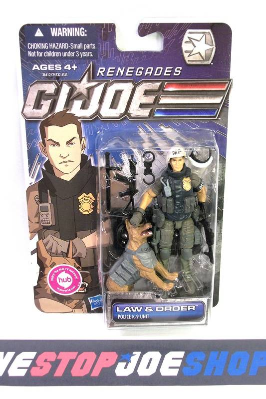 2011 30TH ANNIV G.I. JOE LAW & ORDER V6 NEW SEALED