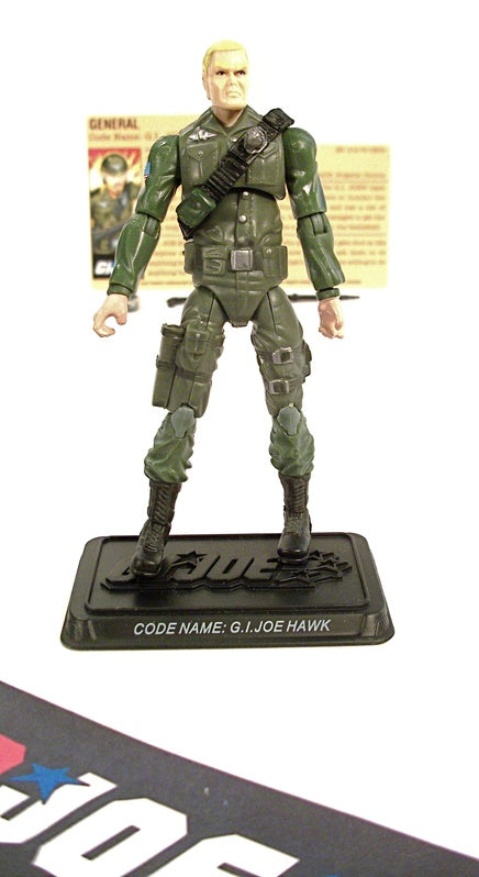 2008 25TH ANNIV G.I. JOE GENERAL HAWK V2 SENIOR RANKING OFFICERS PACK TRU EXCLUSIVE 100% COMPLETE + F/C