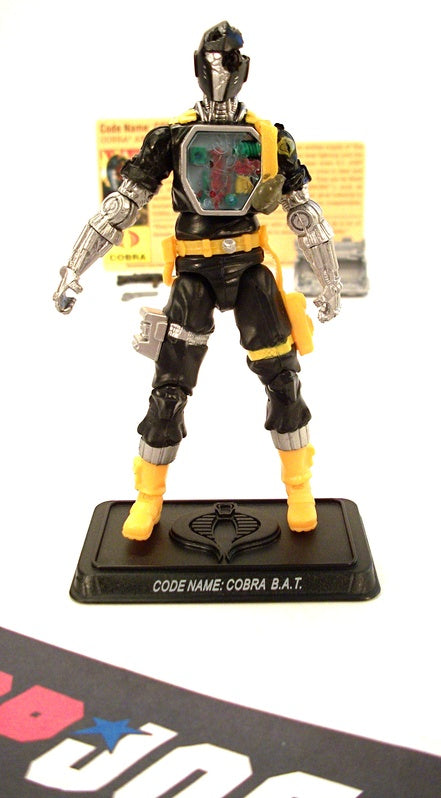 2009 25TH ANNIVERSARY G.I. JOE COBRA B.A.T. BAT V21 DEFENSE OF COBRA ISLAND PACK LOOSE 100% COMPLETE + F/C