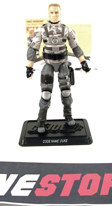 2009 RESOLUTE G.I. JOE DUKE V32 RESOLUTE BATTLE PACK LOOSE 100% COMPLETE + F/C