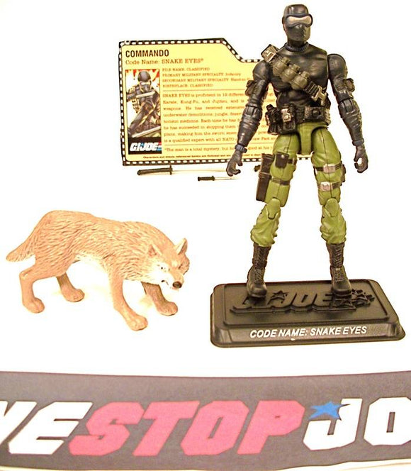 2008 25TH ANNIV G.I. JOE SNAKE EYES V33 SNAKE EYES VS. RED NINJA TROOPERS PACK TRU EXCLUSIVE LOOSE 100% COMPLETE + F/C