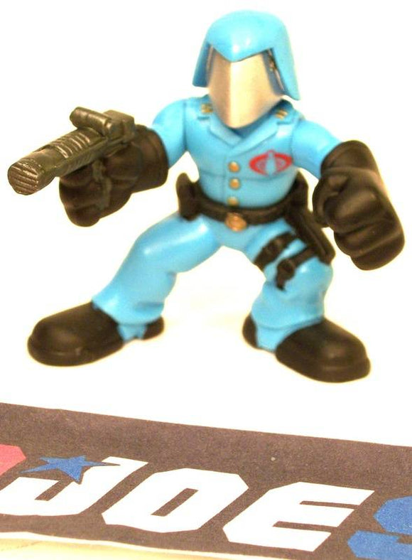 2008 COMBAT HEROES G.I. JOE COBRA COMMANDER V1 LOOSE