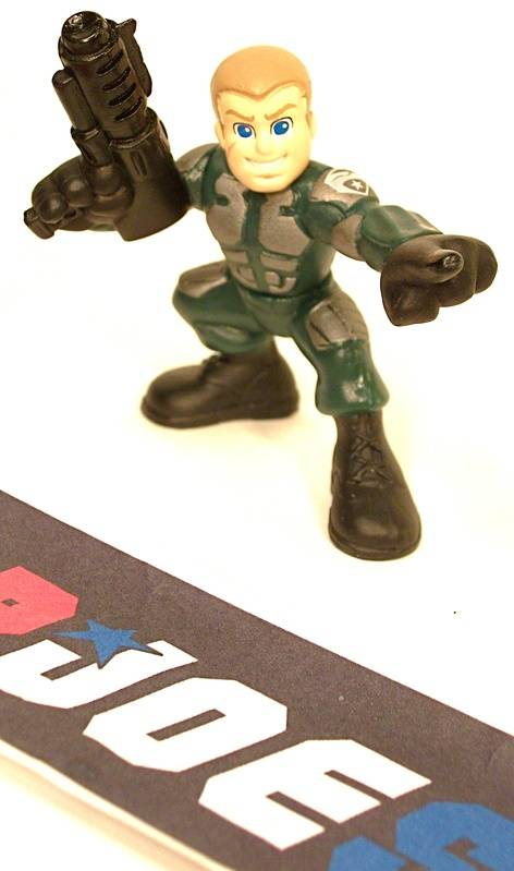 2009 COMBAT HEROES G.I. JOE DUKE V2 ROC RISE OF COBRA LOOSE