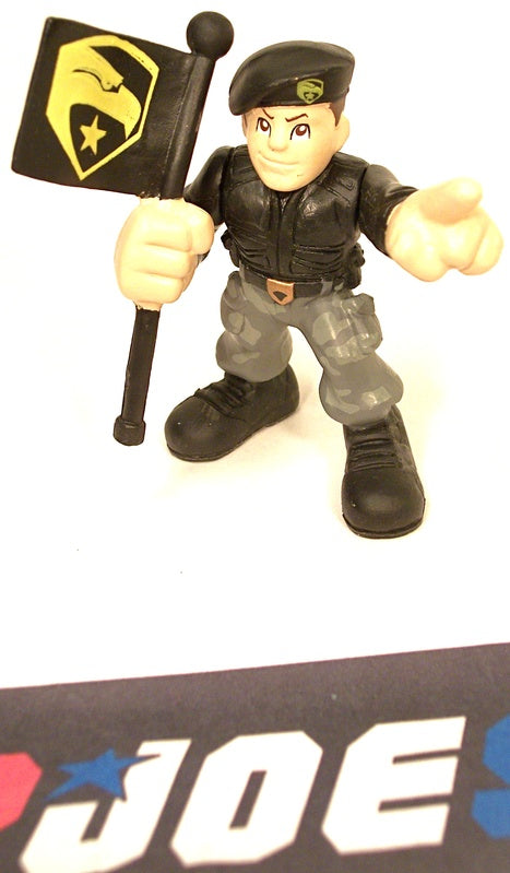 2009 COMBAT HEROES G.I. JOE GENERAL HAWK V1 ROC RISE OF COBRA LOOSE