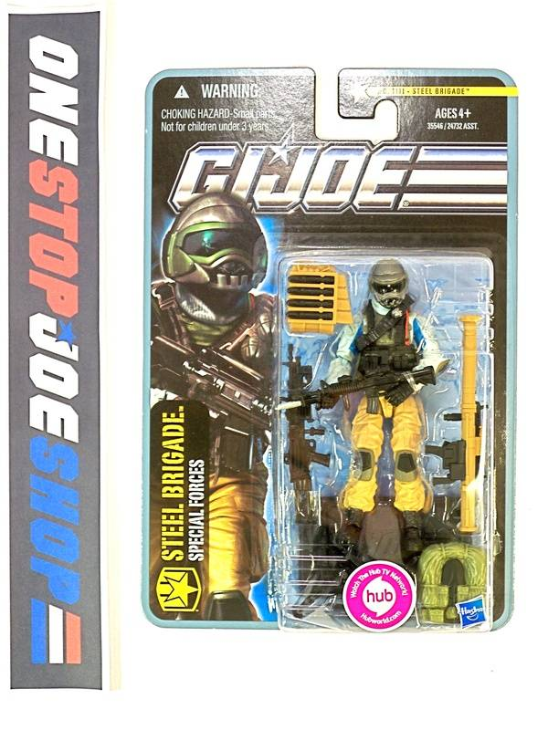2011 POC G.I. JOE STEEL BRIGADE V3A WAVE 5 NEW SEALED