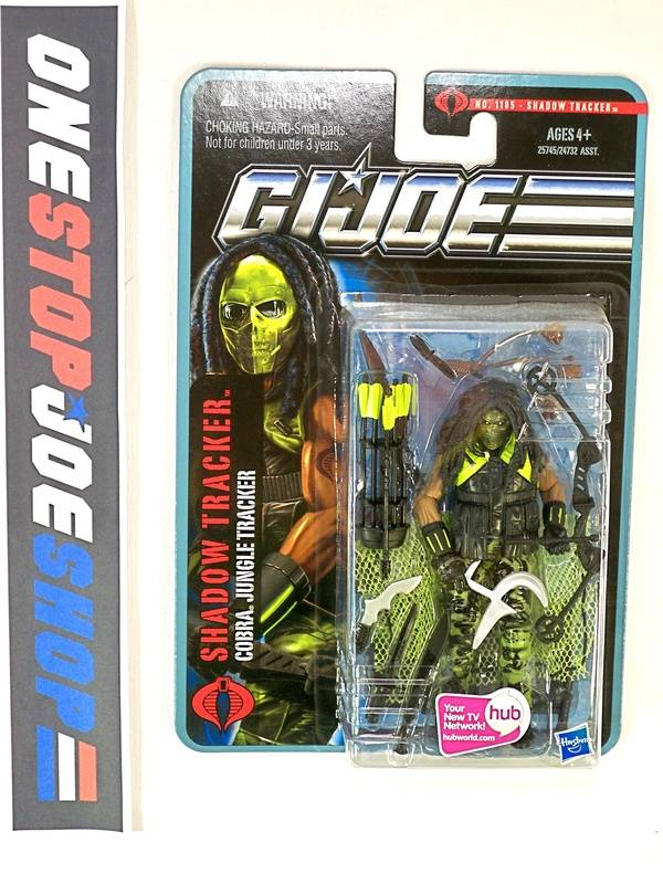 2011 POC G.I. JOE COBRA SHADOW TRACKER V1 WAVE 4 NEW SEALED
