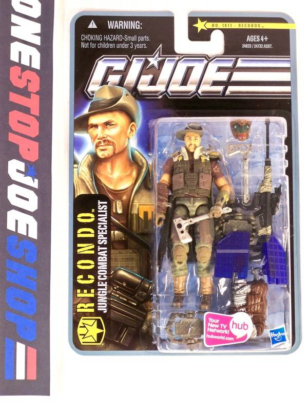 2010 POC G.I. JOE RECONDO V7 WAVE 2 NEW SEALED