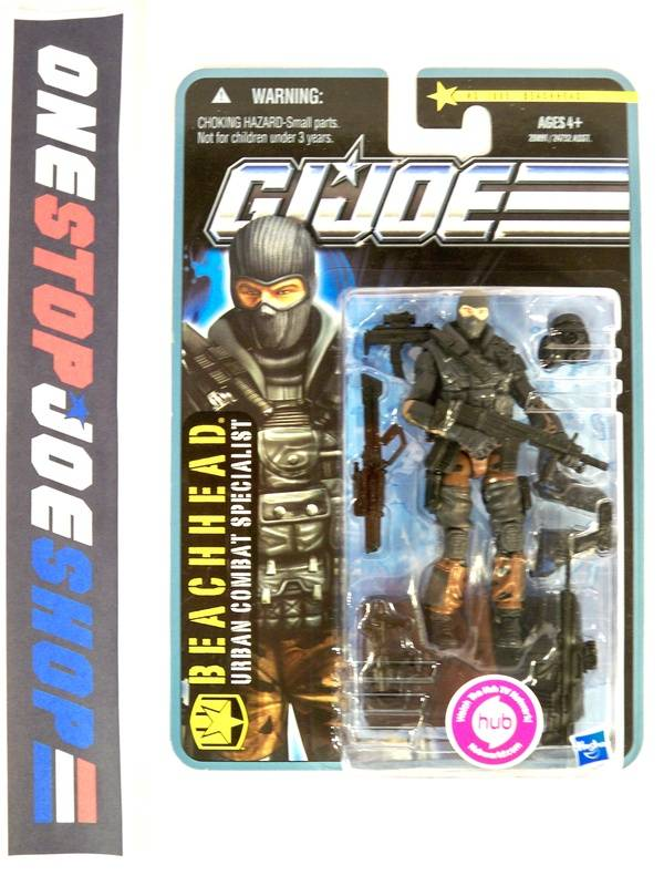 2010 POC G.I. JOE BEACHHEAD V12 WAVE 1 NEW SEALED