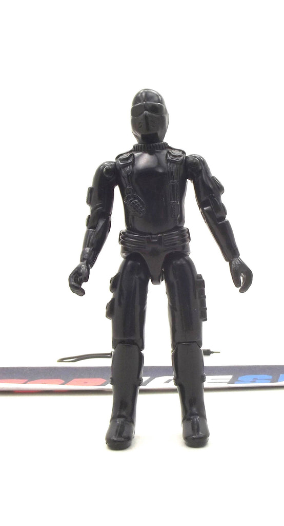 1982 ARAH G.I. JOE SNAKE EYES V1 COMMANDO LOOSE 100% COMPLETE (b)