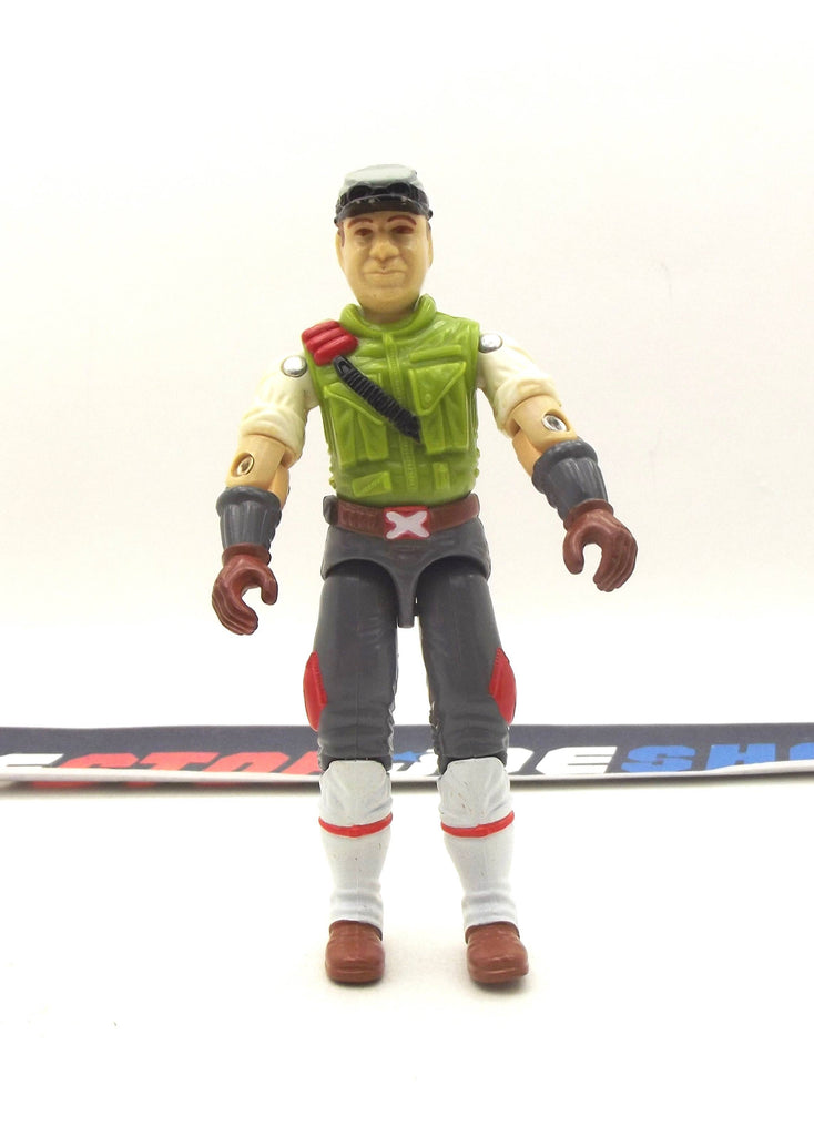 1986 VINTAGE ARAH G.I. JOE CROSS-COUNTRY V1 H.A.V.O.C. DRIVER LOOSE 100% COMPLETE (a)