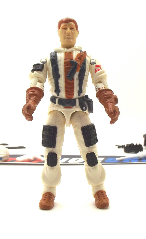 1988 ARAH G.I. JOE BLIZZARD V1 ARCTIC ATTACK SOLDIER LOOSE 100% COMPLETE