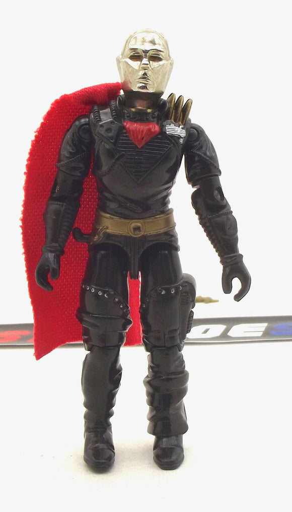 1988 ARAH G.I. JOE COBRA DESTRO V2 IRON GRENADIER LEADER DESPOILER PILOT LOOSE 100% COMPLETE (a)