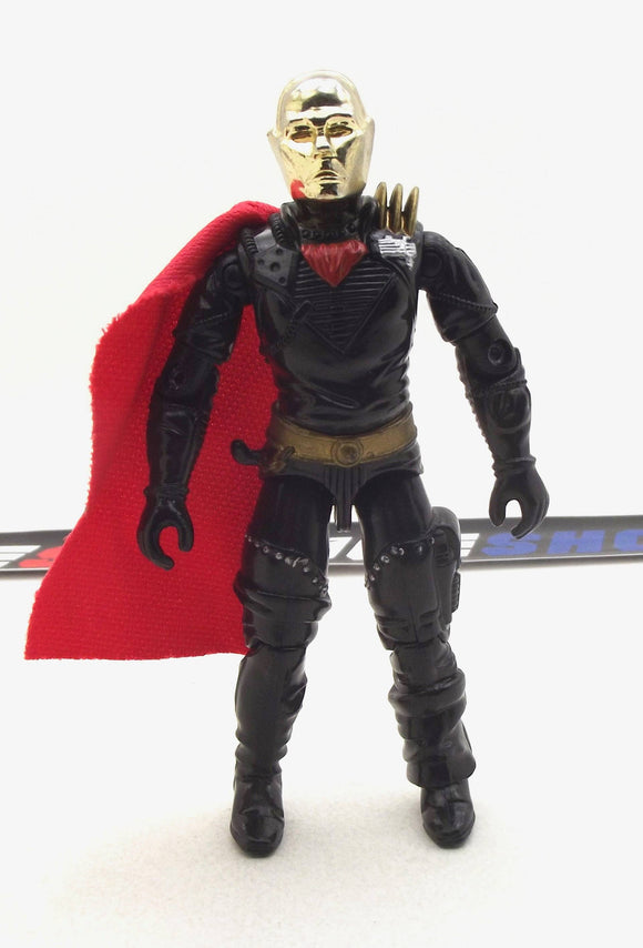 1988 ARAH G.I. JOE COBRA DESTRO V2 IRON GRENADIER LEADER DESPOILER PILOT LOOSE 100% COMPLETE (b)
