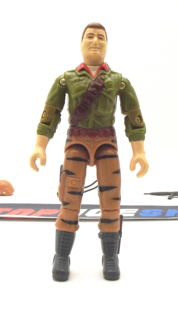 1988 ARAH G.I. JOE DUKE V2 TIGER FORCE FIRST SERGEANT LOOSE 100% COMPLETE