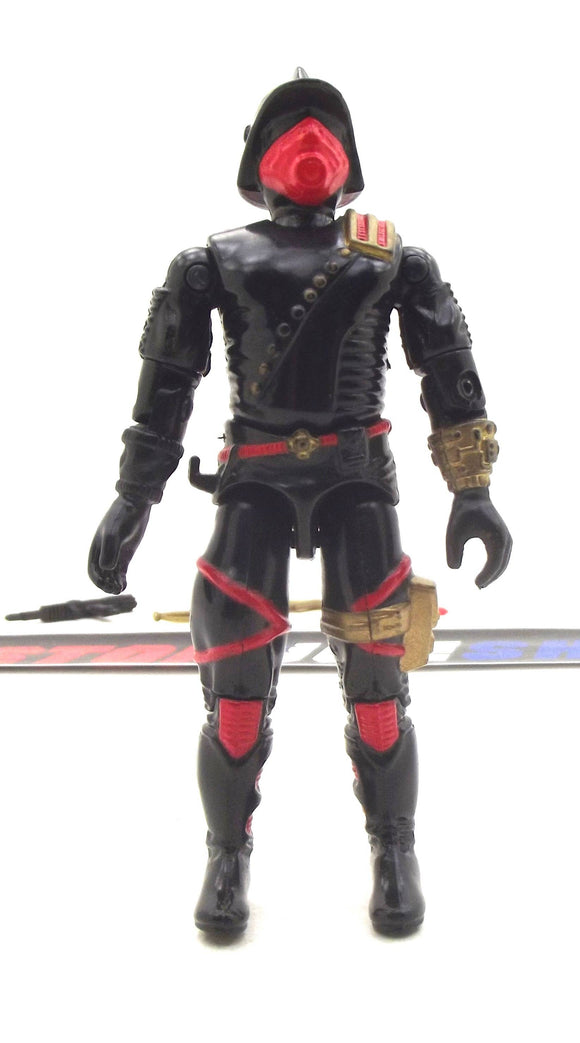 1988 ARAH G.I. JOE COBRA IRON GRENADIERS V1 DESTRO'S ELITE TROOPERS LOOSE 100% COMPLETE (a)