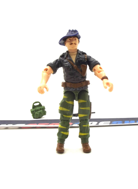 1988 ARAH G.I. JOE RECONDO V2 TIGER FORCE TIGER FLY PILOT LOOSE 100% COMPLETE